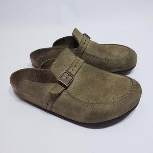 Birkenstock Clogs Suede Size 40 Suede Leather